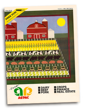 AgPac agricultural software brochure.
