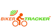 BikerTracker logo.