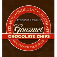 Leelanau Chocolat Chocolate Gourmet Chocolate Chunks logo.