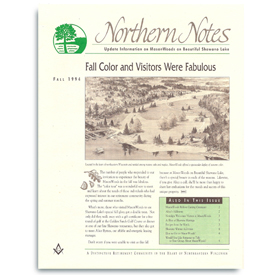 Northern Notes newsletter for MasonWoods.