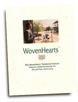 WovenHearts franchise brochure.